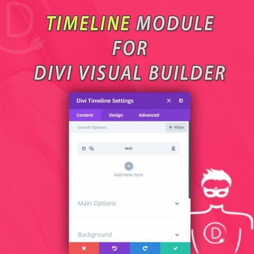 "Divi Timeline Module for Visual Builder - First ""Original"" Module for Divi Visual Builder"