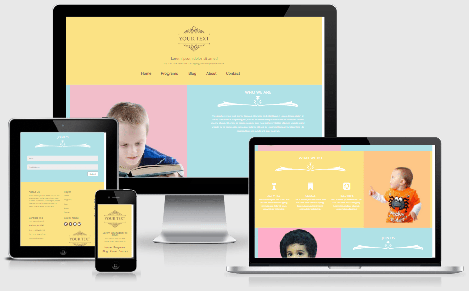 Divi Kids Center Layout Pack for Divi Builder