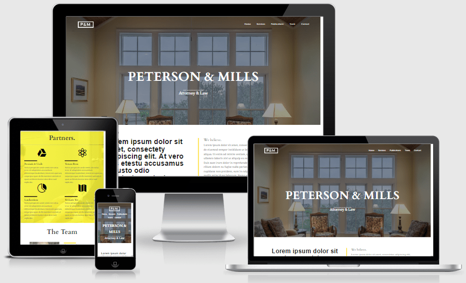 Divi Law Firm layout for Divi builder