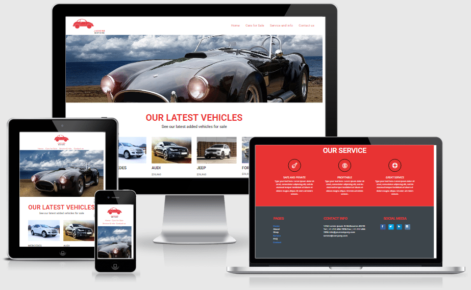 Auto Trader Layout Pack for Divi Builder