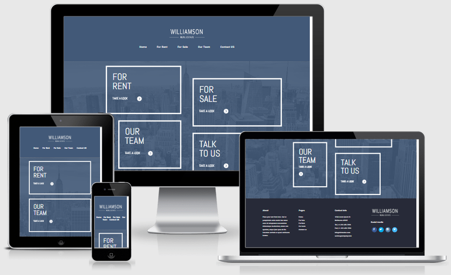 Real Estate Agency Layout Pack for Divi Builder