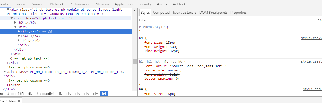 An introduction to Chrome Developer Tools