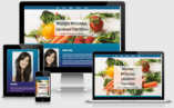 A pack of 2 Divi page layouts that designed specifically for a Dietitian website.
