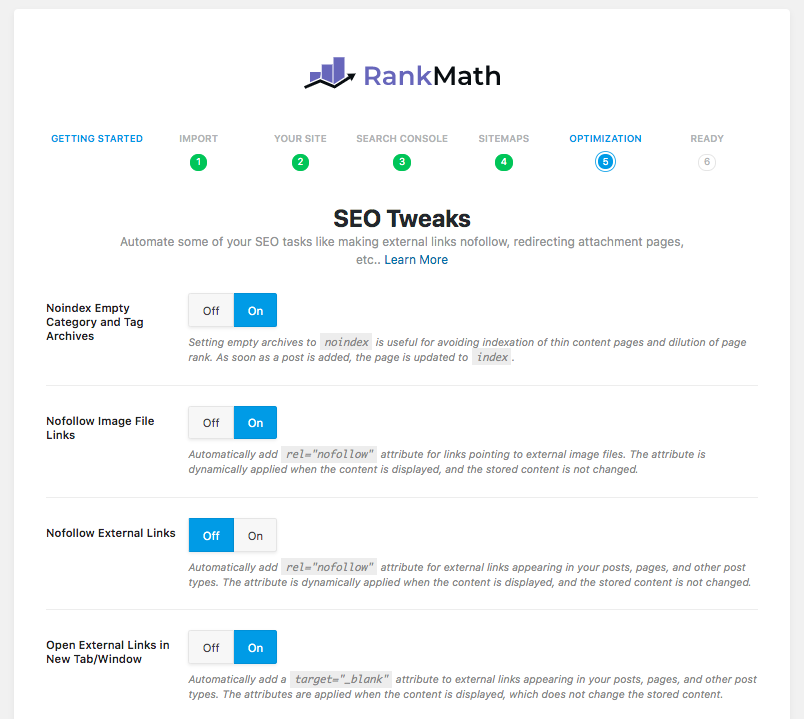 Rank Math SEO Tweaks
