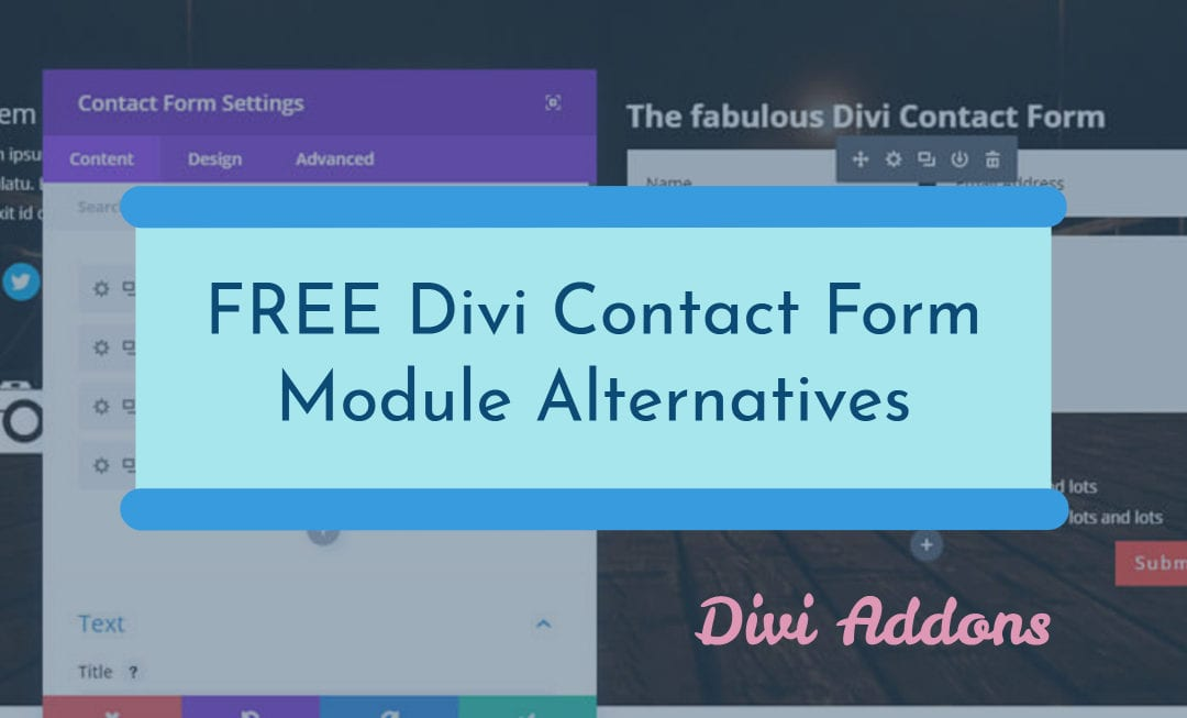 Is Divi 'Contact Form' Module not working? Replace it with these FREE Solutions… [Tested for Compatibility]