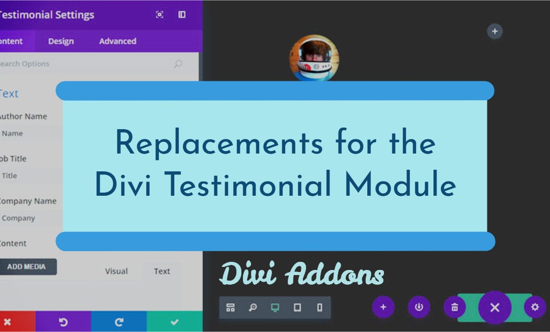 SEO-friendly testimonials for Divi Theme