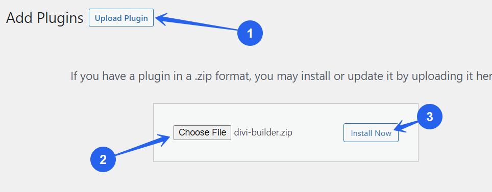 Divi Builder Zip File